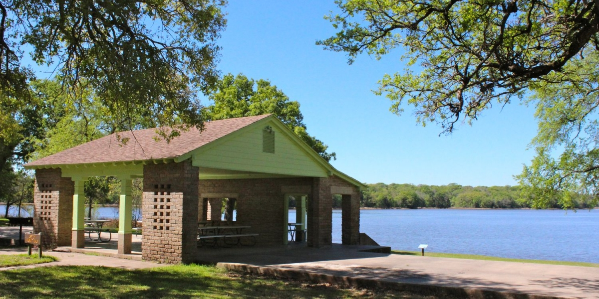 Open Pavilion at FORT PARKER STATE PARK